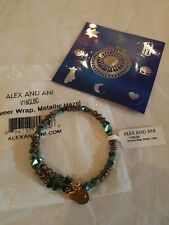 Alex and Ani Glimmer Wrap Metalic Hazel Bracelet V18glbg