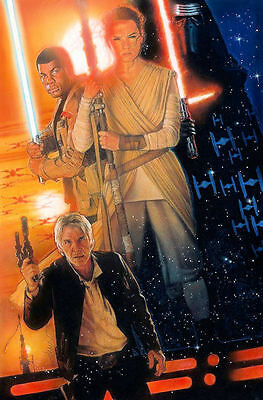 "Star Wars// the force awakens Movie Collector/'s Poster Print 11/"" x 17/"" B2G1F"