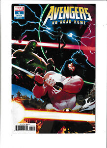 AVENGERS NO ROAD HOME #1 Connnecting Variant Nm Hulk cover