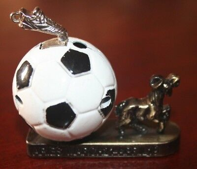 Collectible metal Lighter - Zodiac sign ARIES with football