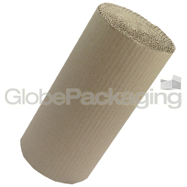 1 Large Roll Of Brown Corrugated Cardboard Wrapping Paper Strong Parcel Protective Packaging Mailing Postal Gift Wrap Supplies Size 500mm Wide x 75 Metres Per Roll