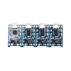 4x-Multi-5V-micro-usb-1A-18650-modulo-di-ricarica-per-batteria-al-li-CRITLO