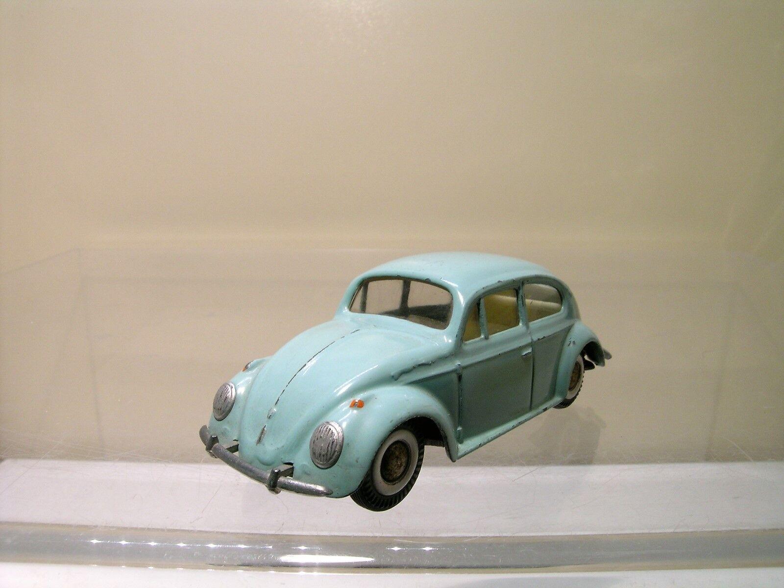 TEKNO DENMARK 819-147 VW VOLKSWAGEN BEETLE 1200 1957 LIGHT bleu SCALE 1 43