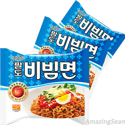 Bibim Men 3,6,10 Spicy Korean Instant Noodle Soup Korea Ramyun Paldo