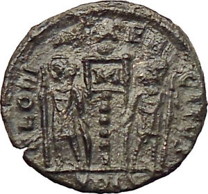CONSTANS-Constantine-I-son-337AD-Ancient-Roman-Coin-Soldiers-Legions-i29818