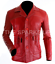 NEW-Fight-Club-Brad-Pitt-Leather-Jacket-FC-Coat-Red-BIG-SALE-BEST-QUALITY thumbnail 1