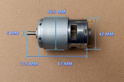 MABUCHI RS-775WC-8514 DC12V 18VHigh Speed Power Garden Tool Electric Drill Motor