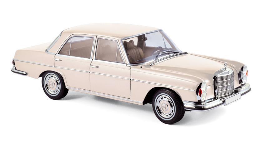 hasta un 60% de descuento Norev 1 18 1968 Mercedes Benz Benz Benz 280 se Diecast Modelo Coche Marfil (183569)  Envío 100% gratuito