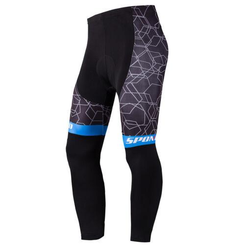 Bicycle Pants for Men Sponeed Outdoor Bike Trousers Biking Tights Wear MTB M-3XL
