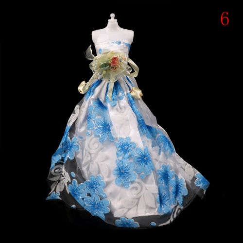 Fashion handmake Wedding Dress Fashion SPothing Gown For  doll B1SP