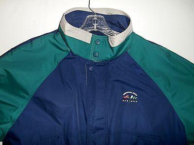 Members Only Mariner Full Zip Blue Green Jacket Men's Size XL