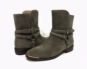 989d3e6cef8 Details about UGG 1019151 KELBY HARNESS ANKLE BOOTS MOUSE GREY SUEDE -US  SIZE 8 -NEW