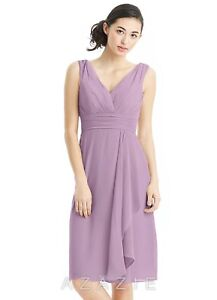b878db981e Image is loading Azazie-Bridesmaid-Dress-Size-A10-Iliana-Wisteria-EUC