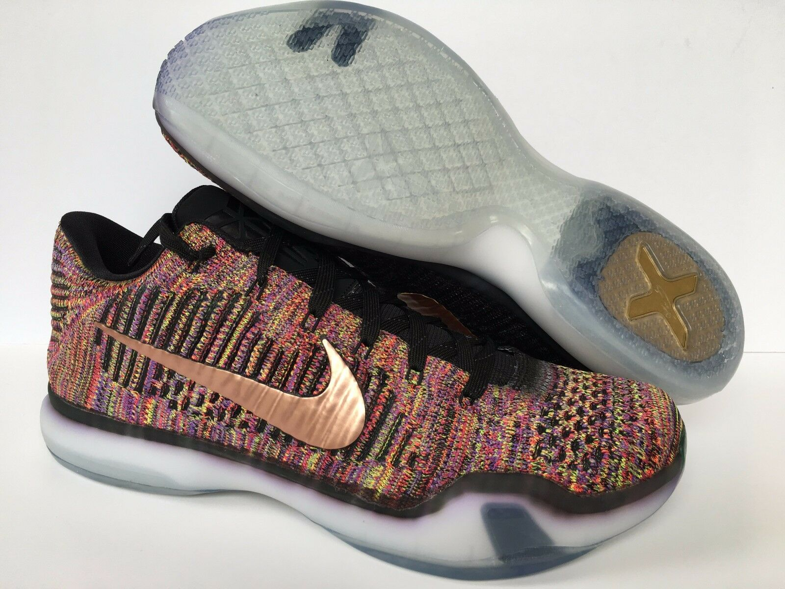 Nike Kobe X Elite Low iD Multi-color 802817-903 Men's Sz 11 New