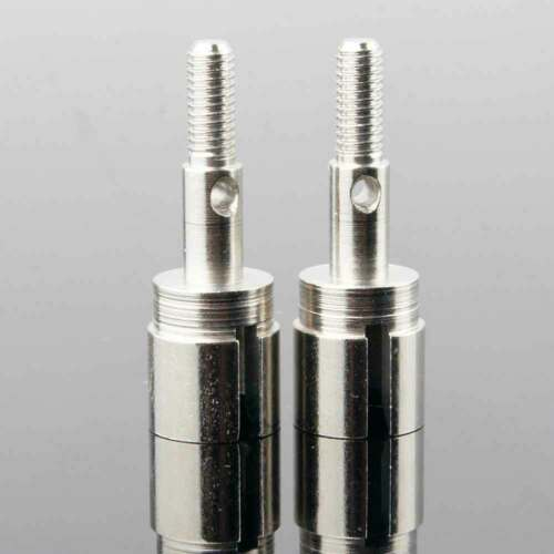 Details about  /R//C 02033 Original Silver Wheel Axle 2PCS For Redcat 1//10th 94103 Lightning EPX
