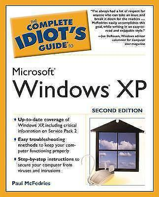 """1 of 1 - """"VERY GOOD"""" Complete Idiot's Guide to Windows XP (Complete Idiot's Guides (Compu"""