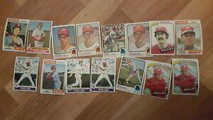 50-BASEBALL-CARD-CARDS-LOT-VINTAGE-PHILADELPHIA-PHILLIES-1970-039-s-Mike-Schmidt