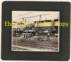 RARE-Photo-Road-Paving-Construction-Plant-1909-Paterson-New-Jersey-NJ