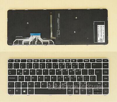 HP Folio 13-1050 HP Folio 13-1029WM HP Folio 13-1027NR HP Folio 13-1035NR Keyboards4Laptops German Layout Glossy Black Frame Backlit Black Laptop Keyboard Compatible with HP Folio 13-1020US