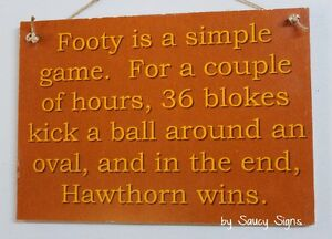Simple-Game-Hawthorn-Footy-Aussie-Rules-Sign-Bar-Shed-Man-Cave-Rustic-Hawks