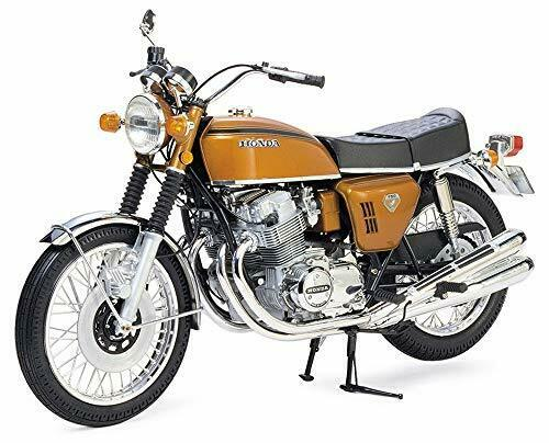 Tamiya 1 6 Motorcycle Series No.01 Honda Dream CB750 FOUR plastic model 16001