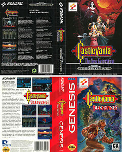 buy castlevania bloodlines