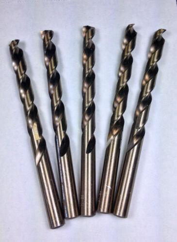 Super Cobalt HSS Jobber Drill Bits T LastCut 5 PCS Letter 135 DEG S//P