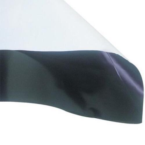 Indoor weiß Folie 0,07mm Grow 25x2m = 50m² schwarz