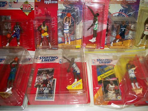 17 Starting Lineup NBA Figures 88-98 – A7