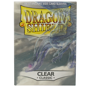 Dragon Shield Matte Sleeves Clear 100 Sleeves