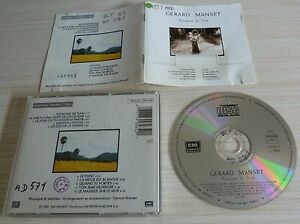 RARE-CD-ALBUM-ROYAUME-DE-SIAM-GERARD-MANSET-10-TITRES-1988-MEDIATHEQUE