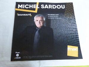 Michel-Sardou-la-Scelta-Del-Pazzo-Plv-30-x-30-cm-Instore-Carta-Display