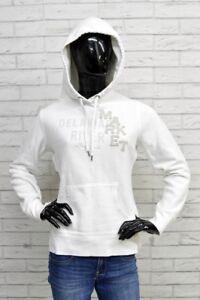 Sweatshirt H & M Size Size M Women Sweater Cardigan Jumper Cotton Woman White
