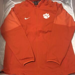 2393f079e889 Image is loading NIKE-CLEMSON-ELITE-HYBRID-JACKET-SZ-L