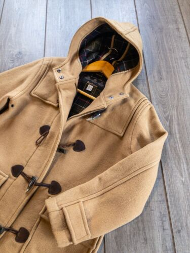 Barbour Ladies Classic Duffle Coat Sandstorme Wool