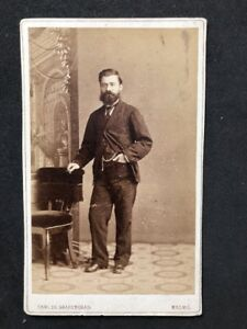 Swedish-Victorian-Carte-De-Visite-CDV-Sharengrad-Malmo-1-of-2