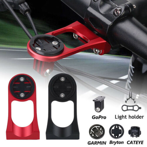 Bike Handlebar Extender Mount Bracket Flashlight Hold For Garmin Bryton Cateye