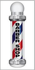 20x48 Inch Barber Shop Vinyl Banner Sign Vertical Bar