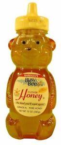 Busy Bee Squeeze Bear Clover Honey, 12 oz