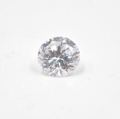 Excellent 100pcs 1.00mm~10mm Round Shape White 5A loose Cz Stone cubic zirconia