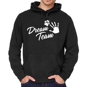Dream-Team-Dreamteam-Hundesport-Agility-Hund-Dog-Pfote-Kapuzenpullover-Hoodie