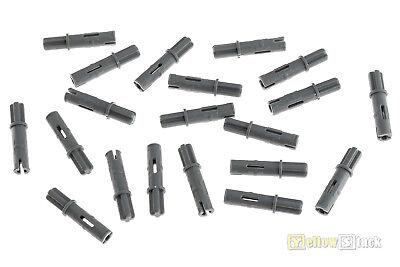 20X Lego 11214 Technic Kreuz Achs Pins Verbinder 3L neues Dunkelgrau Gray NEU