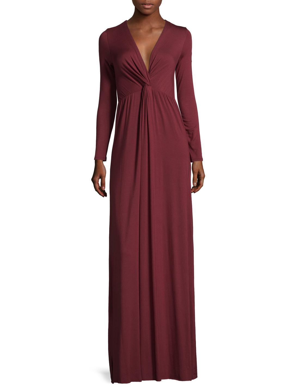 Rachel Pally Rosemarie Maxi Robe-Sz S 'Heirloom  Rouge Bordeaux Neuf avec étiquettes magnifique