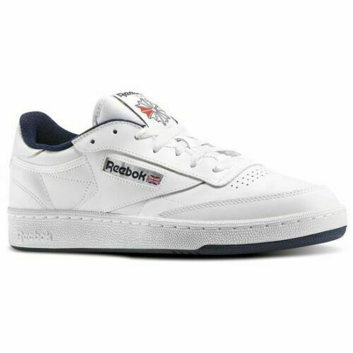 Reebok Club C 85 Tg Mens Shoes Steel Carbon Gum Bd1886 11 5 For Sale Ebay