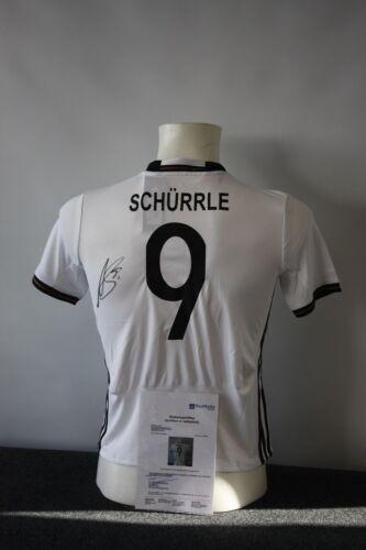 DFB Andre Schürrle signiert Borussia Dortmund BVB Deutschland Trikot 152