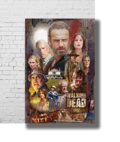 Hot Gift Poster The Walking Dead Season 7 Hot USA TV Series 40x27 36x24 F-2720