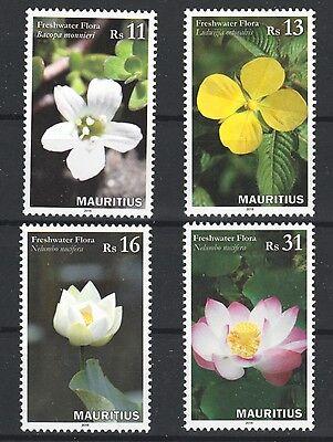 Natur & Pflanzen Süßwasser Blumen Mnh 4er Set Briefmarken 2016 Mauritius #1157-60 Neue Sorten Werden Nacheinander Vorgestellt Briefmarken
