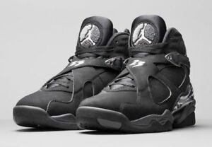 various colors 02428 4c394 Details about Nike Air Jordan 8 VIII Retro Chrome Black White Graphite  305381 003