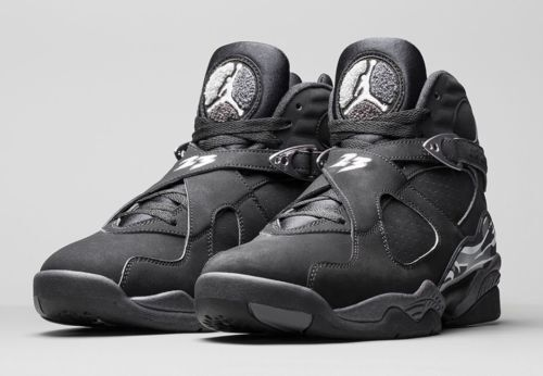 promo code 382ea 8c971 Nike Air Jordan 8 Retro Black-white-light Graphite Sz 17 305381-003 for  sale online   eBay