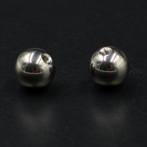 50Pcs Titane Boule Remplacement Piercing Accessoires Body Piercing Bijoux Vis